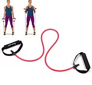Red Tube Elastic String Sliming Fitness Yoga Resistance Bands Fitness
