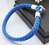 Fashion Simpleness PU Handmade Bracelet Jewelry Christmas Gifts