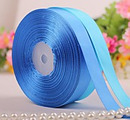Solid Color 3/4 Inch Satin Ribbon - 50 Yards Per Roll(More Colors)
