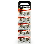 Camelion 1.5V AG13 Alkaline Button Battery (10pcs)