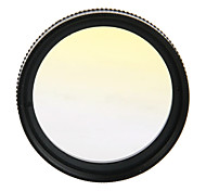 37mm Graddually  Filter + Lens Hood + Lens Cap Kit For Gopro Hero 3/3+ --Yellow