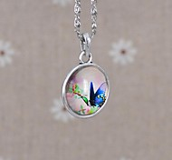 Women's Galaxy Sided Spend Time Gem Necklace