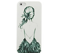 Little Girl Pattern Hard Case for iPhone4/4S