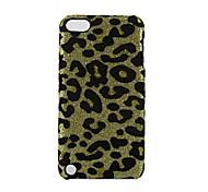 caso difícil padrão de design estampa de leopardo para ipod touch 5