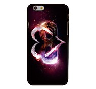 Infinity Love Style Plastic Hard Back Cover for iPhone 6