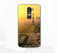 Tower Pattern Hard Case for LG G2
