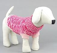 Mode für Haustiere schöne süße Wollfaden weben Pullover für Haustiere Hunde (verschiedene Größen)