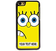 Personalized Case Cartoon Yellow Design Metal Case for iPhone 5C