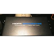 av / s-video hembra a HDMI convertidores de video femenino apoyo 720p