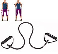 KYLIN SPORT™ Black Tube Elastic String Sliming Fitness Yoga Resistance Bands Fitness