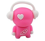 USB flash drive estilo de música criativa 8gb cor aleatória