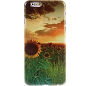 Beautiful Sunflower Design Hard Case for iPhone 6
