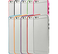 PC & TPU Hybrid Bumper Protective Frame Rim Case for iPhone 6 (Assorted Colors)