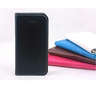 Allspark® Simple Stype Super Thin Pu Leather wallet case for iphone 44s,iphone 4 case,iphone 4 leather case