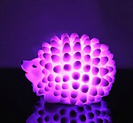 LED  Color Change Hedgehog Shaped Light Halloween Props (Random Color)