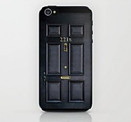 221 Door Pattern Hard Case for iPhone 4/4S