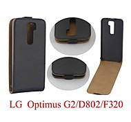 Hot Sale 100% PU Leather Flip Leather Case for LG G2 Smartphone