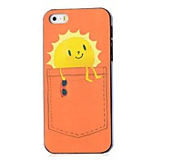 Cool Sun Pattern Hard Case for iPhone 4/4S