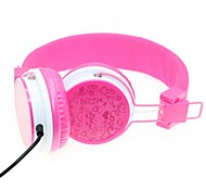 WZS Headphone 3.5mm Over Ear Ergonomic Hi-Fi Stereo with Microphone Noise-Cancelling for Mobile Phone