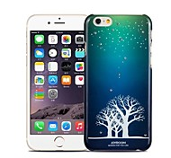 Luminous Pattern Plastic Cover for iPhone 6