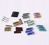 Z&X®  5*15MM 100 PCS Fashion DIY Strip Decoration Glass Flatback(Random Color)