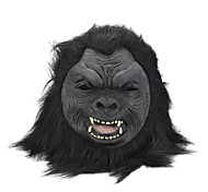 SYVIO High-grade Latex Chimpanzee/ Orangutan Head Halloween Slip-on Mask