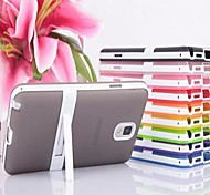 Candy Color Back Case with Stand for Samsung Galaxy Note 3(Assorted Color)