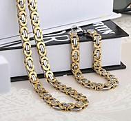 Schmuck-Halsketten / Armband(Edelstahl)Hochzeit / Party / Alltag / Normal Hochzeitsgeschenke
