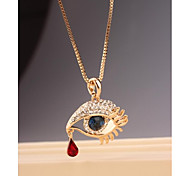 Fashion Statement Eye Alloy Korea Necklace for Women In Jewelry