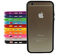 Stylish TPU Bumper Frame for iPhone 6 Plus (Assorted Color)