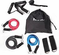 kylin Sport ™ 9 Stück Widerstand Band gesetzt Yoga Pilates abs Übung Fitness Rohr Training Bands