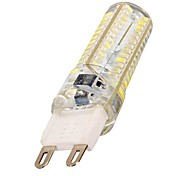 G9 5W 104 SMD 3014 600 LM Cool White T LED Corn Lights AC 220-240 V