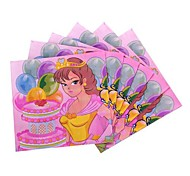 Coway 30*30*1 20 pcs/Package Princess Party Children's Birthday Party Party Supplies Paper Napkin