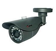 Waterproof Outdoor Bullet 1/3 CMOS 900TVL 24pcs IR LED CCTV Camera