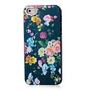 Blumen-Muster Hülle für das iPhone 4 / 4s