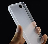 Latest Version Half a Pack Type Ultra-thin Frosted Back Case for iPhone 4/4S (Assorted Color)