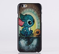 Anime Pattern Plastic Hard Cover for iPhone 6