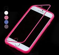 df flip pantalla táctil caso de cuerpo completo transparente para el iphone 6 (colores surtidos)