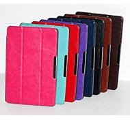 Fashion 3 Fold Crazy-horse PU Leather Book Case Cover for Amazon Kindle Fire HD 7