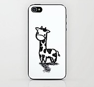 ручная роспись жираф рисунок жесткий футляр для iPhone 4 / 4s