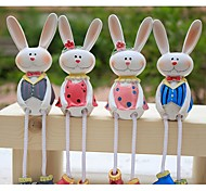 2PCS Pastoral Decorative Hanging Dolls for Gifts Resin Animal Toys