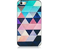 Gradient Triangle Patten Back Case for iPhone 4/4S