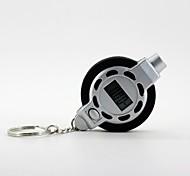 medidor de presión de neumáticos digital con llavero