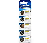 Camelion 3V CR2016 Lithium Button Battery (5pcs)