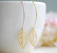 Girl' Leaf Earrings