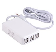 Hubs usb chargeur 6 pour iPad 2 iphone air iphone 6 6 plus iphone 5s / 5 Mini iPad 3/2/1 ipad air (30w 6a, prise américaine)