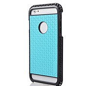 2014 New  2 in 1 Rugged Hybrid Hard/Soft Drop Impact Resistant Protective Case Cover for iPhone 6 Plus (Assorted colors)