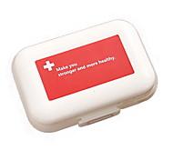 Mini Pillendose aus Kunststoff (1 PC)