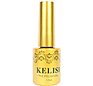 1PCS KELISI Professional Metal UV Color Gel NO.1-6(12ml,Assorted Color)