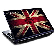 Britain Flag Union Jack Pattern Laptop Protective Skin Sticker For 15.6""